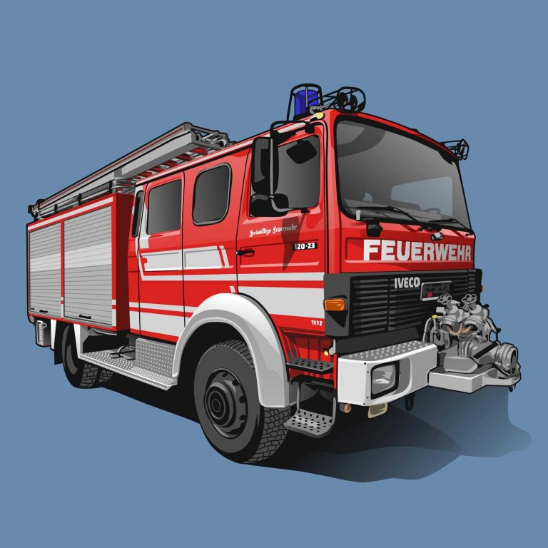 Iveco 120 23 Feuerwehr