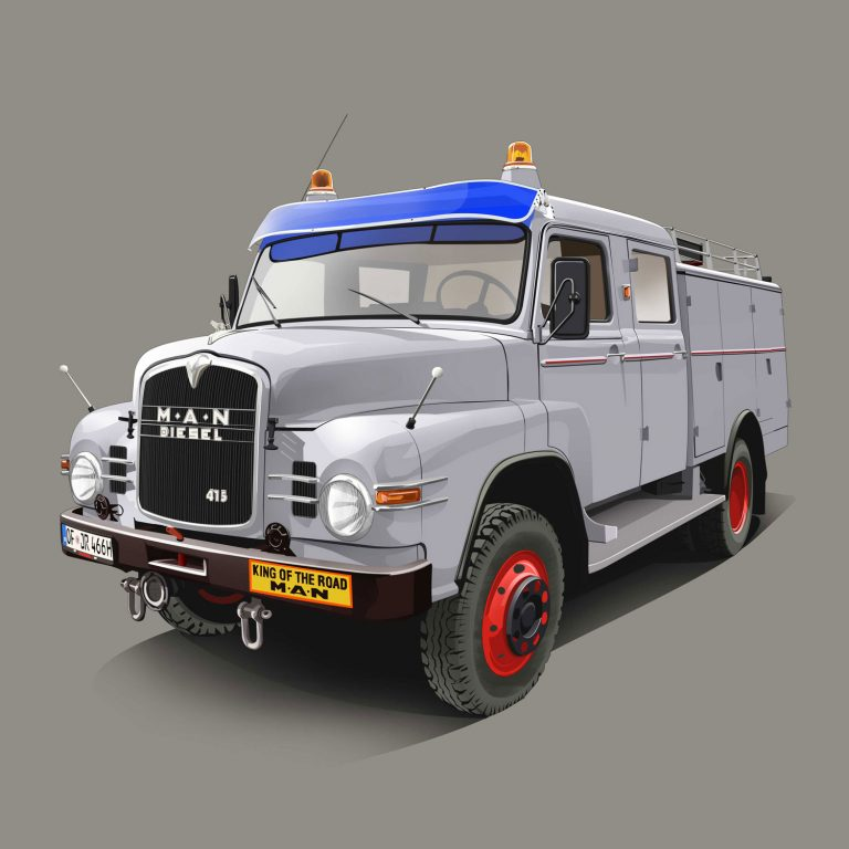 Authority-Vehicle-MAN-415-Diesel