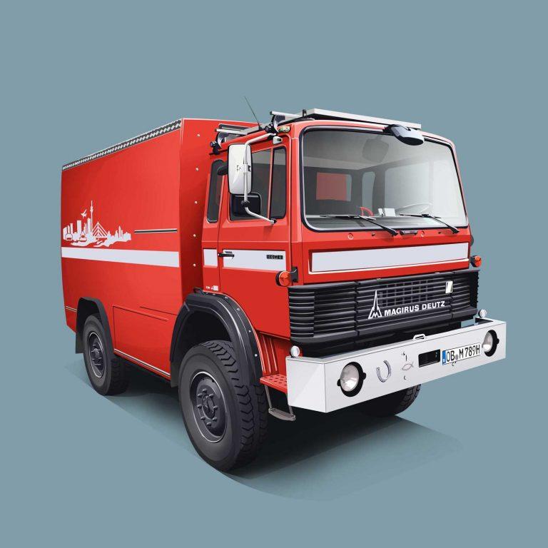 Authority-Vehicle-Magirus-Deutz-Feuerwehr