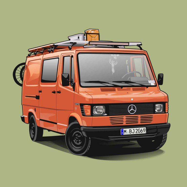 Mercedes 307D Feuerwehr