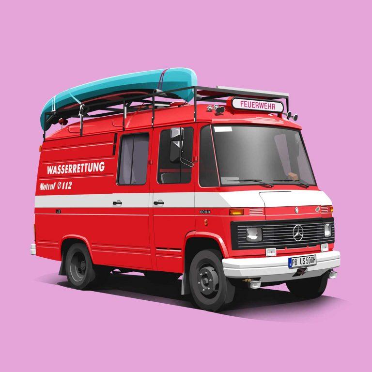 Mercedes 508D Feuerwehr