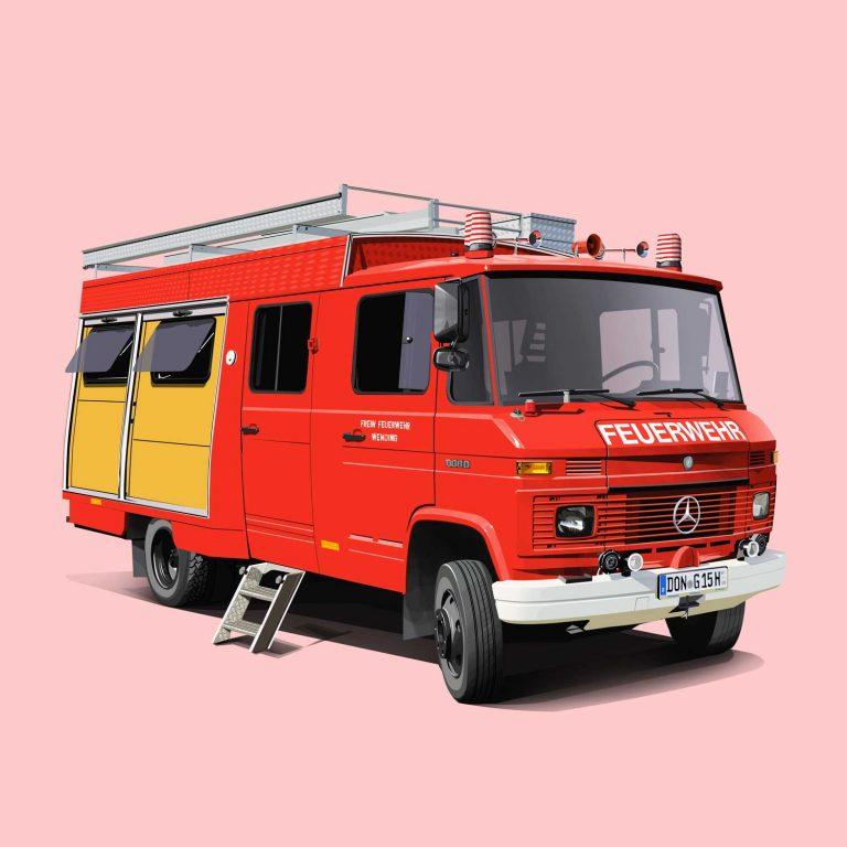 Mercedes 608D Feuerwehr