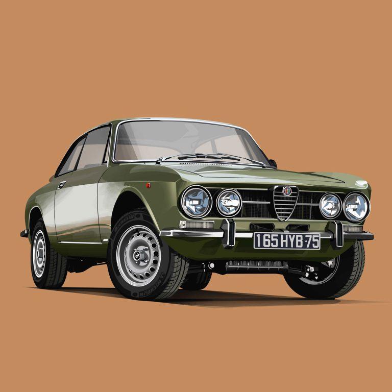 Classic-Car-Alfa-Romeo-1750-GT-Veloce
