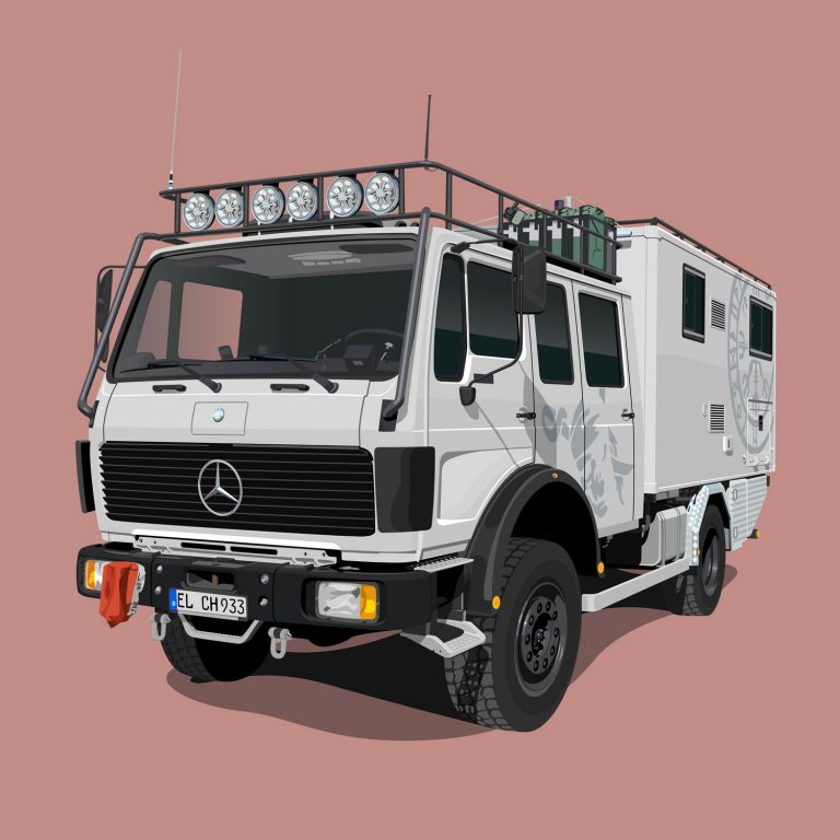 Expeditions-Vehicle-Mercedes-1222-AF