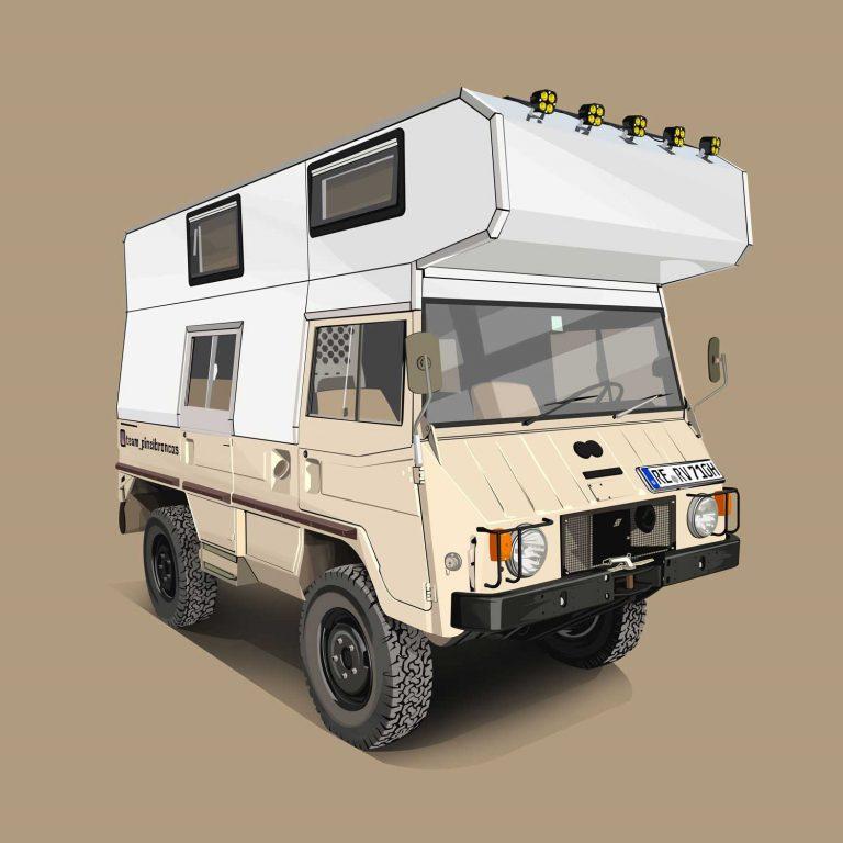 Expeditions-Vehicle-Pinzgauer-710K