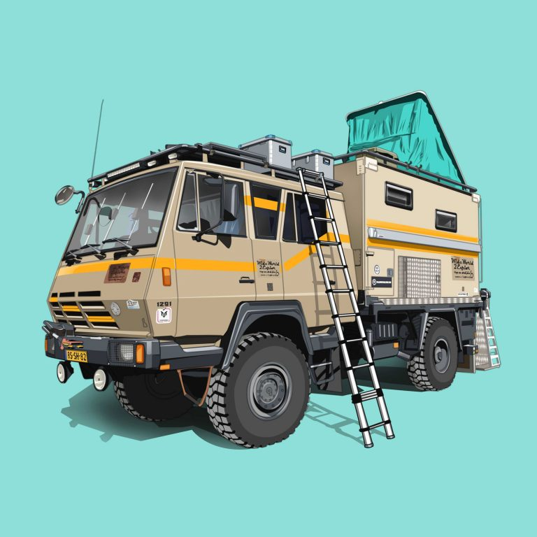Expeditions-Vehicle-Steyr-Daimler-Puch-1291.260-K38-4x4