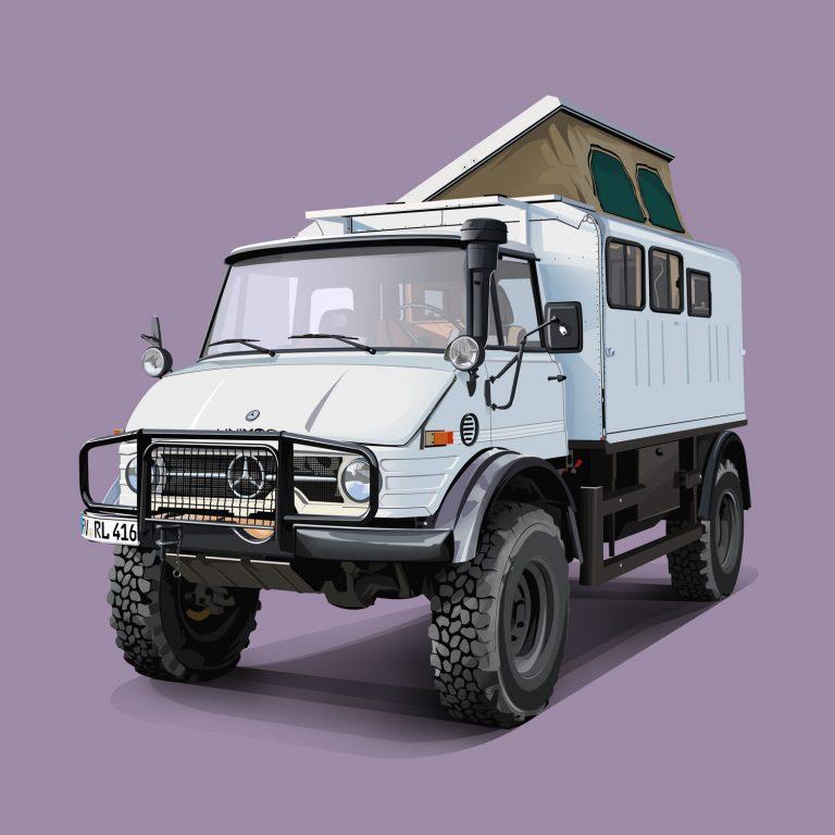 Expeditions-Vehicles-Mercedes-Unimog-Reiselicht