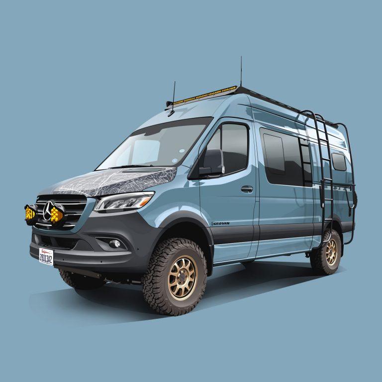 Motorhomes-Mercedes-Spinter-4x4