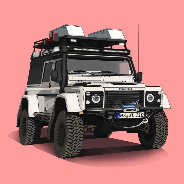 Offroad-Cars-Defender-110-TD5-Islaender