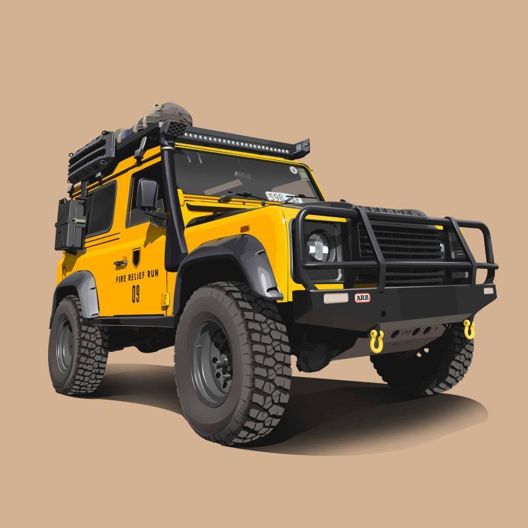 Offroad-Cars-Landrover-Defender-90