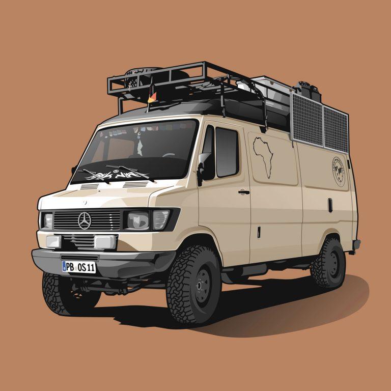 Vanlife-Mercedes-310D-Iglhaut-4x4