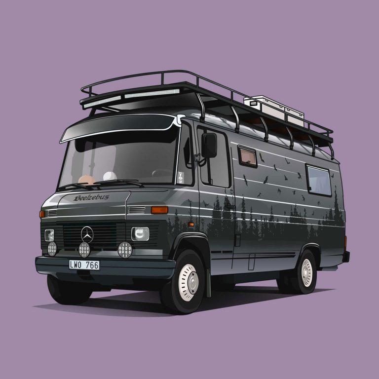 Vanlife-Mercedes-508D-Beelzebus