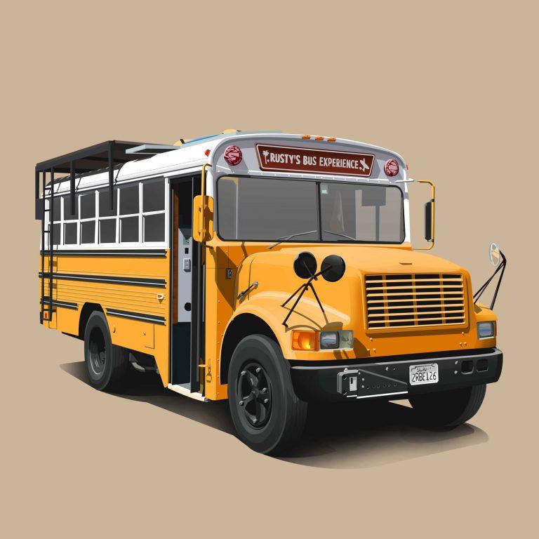Vanlife-Schoolbus-Rustytravels