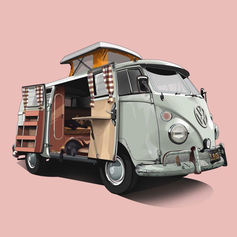 Vanlife-VW-T1-Vintage