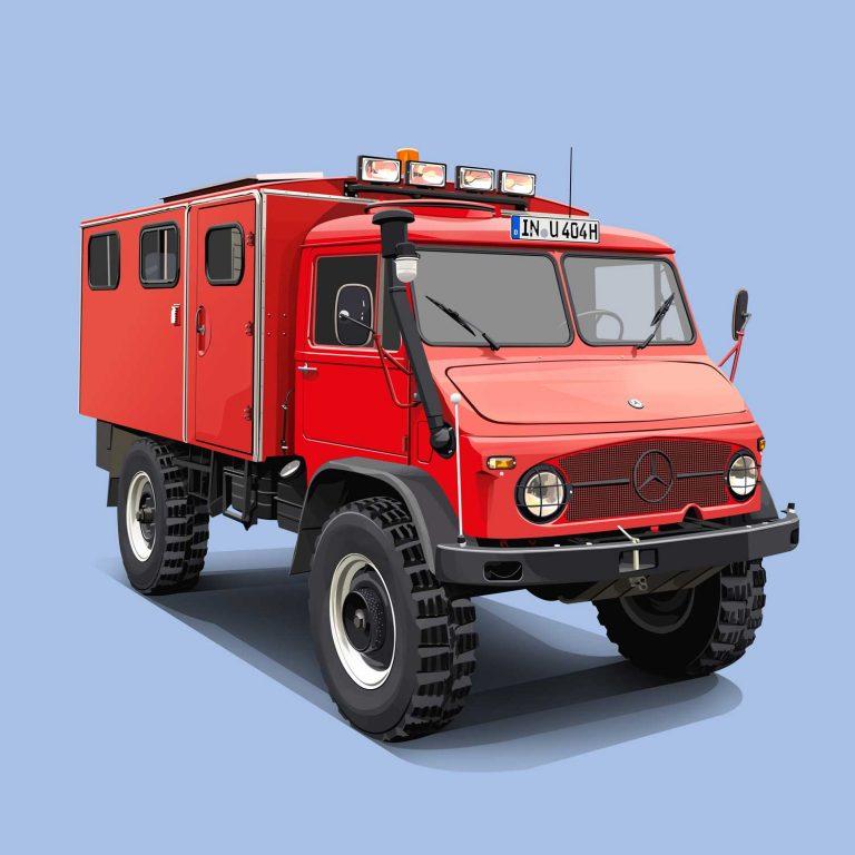 Authority-Vehicle-Mercedes-Unimog-1963