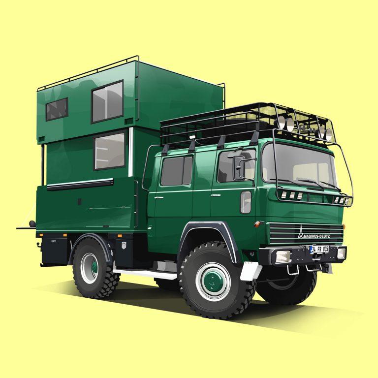 Expeditions-Vehicle-Magirus-Deutz-170D11
