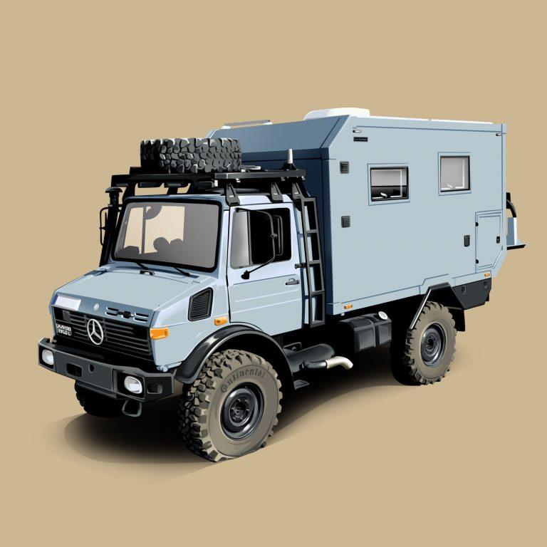 Expeditions-Vehicle-Mercedes-Unimog-Urocamper