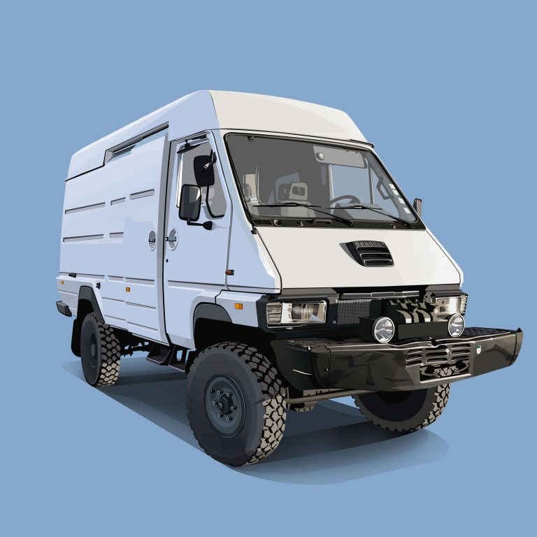 Expeditions-Vehicle-Renault-B110-4x4