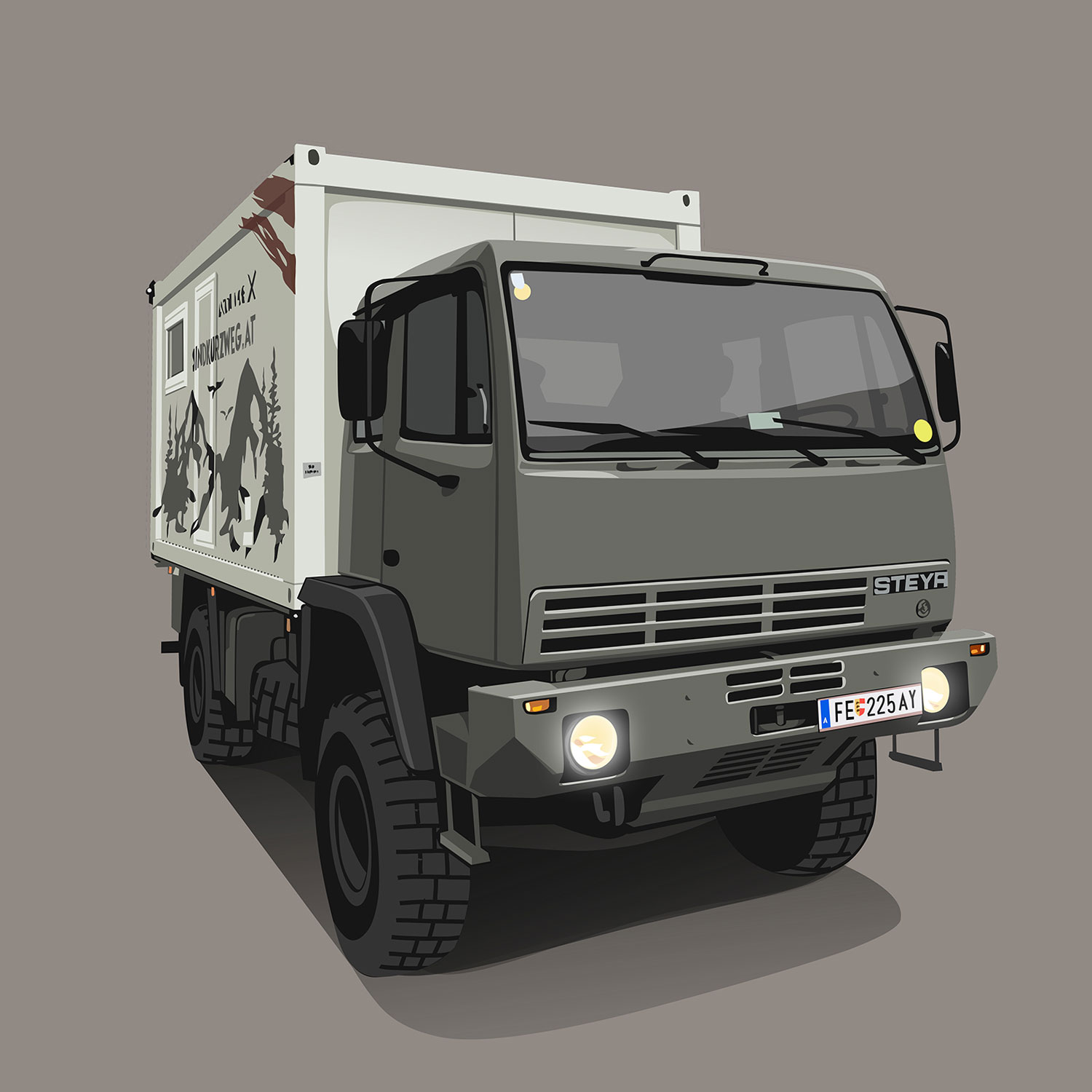 Expeditions-Vehicle-Steyr-12M18