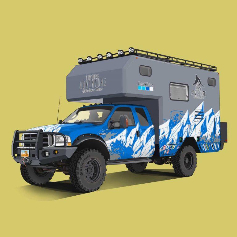 Motorhomes-Ford-F550