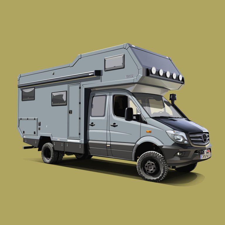Motorhomes-Mercedes-Sprinter-Uro-Alkhoven