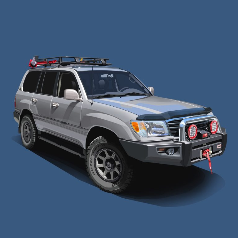 Offroad-Cars-Toyota-Landcruiser-Blue