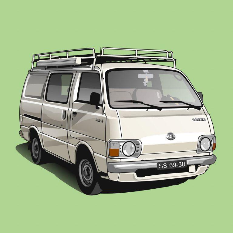 Vanlife-Toyota-Hiace