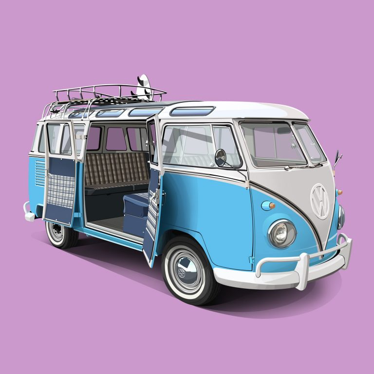 Vanlife-Volkswagen-T1-Samba