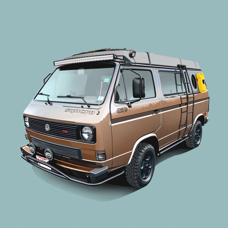 Vanlife-Volkswagen-T3-4WD-Syncro